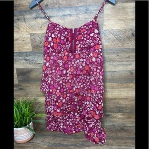 American Eagle Floral dress with front zipper sz8